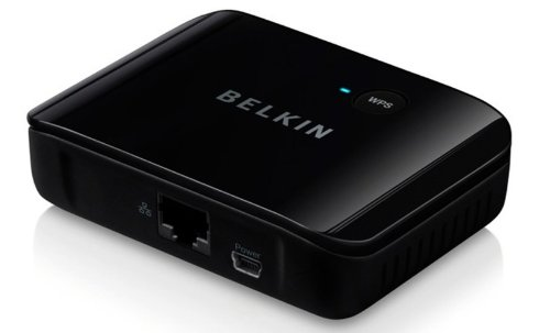 Belkin Universal Wireless Hdtv Adapter  Discontinued By Manufacturer
