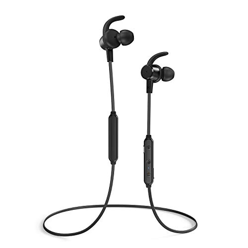 Wireless TaoTronics Bluetooth Headphones Active Noise Cancelling ANC, Magnetic Design Earphones Built-in Mic Bluetooth 4.2 Earbuds