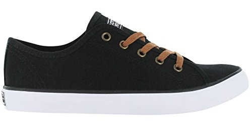 Gotta Flurt Womens Marvel Sneaker Black Canvas Jw8C4z