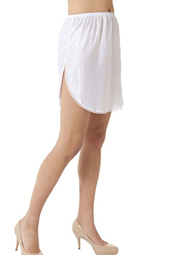 BellaSous Luxury Double Slit Half Slip Underskirt - 16