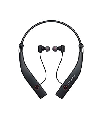 Phiaton BT 100 NC Wireless and Active Noise Cancelling Neck Band Style Earphones with Mic