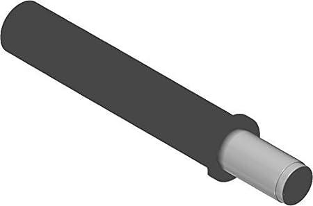M/öbeld/ämpfer Anschlag an der Griffseite Kunststoff staubgrau 10 St/ück T/üranschlag-d/ämpfer zum Einbohren T/ürd/ämpfer 970.1002 BLUMOTION T/ür-Puffer