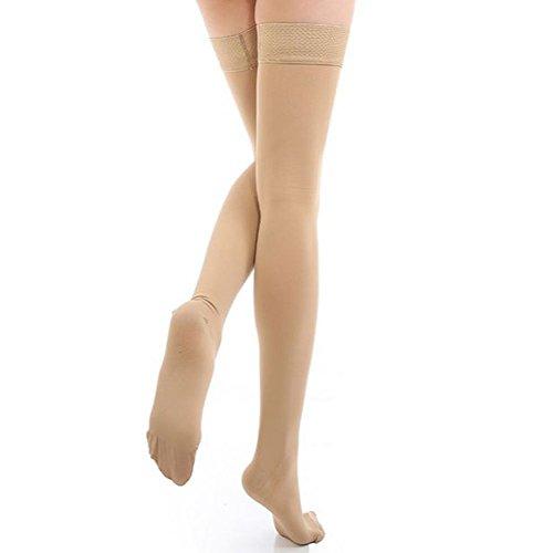 ctk-compression-stockings-thigh-high-microfiber-medical-tight-close-toe-socks-20-30mmhgbeige1x-large