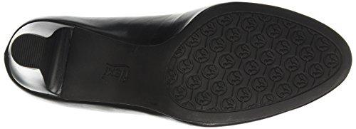 Flexi Women 27801 Lauren Black, Chaussures De Pompe Noir
