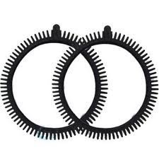 The Pool Cleaner Black Tires (2 in Package) Super Hump Front Tires Concrete Limited - Poolvergnuegen Pool