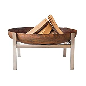 Arpe Studio LARGE CRATE Fire Pit Contemporary Design