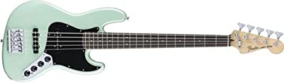 Fender Deluxe Active Jazz Bass V String - Pau Ferro Fingerboard - Surf Pearl