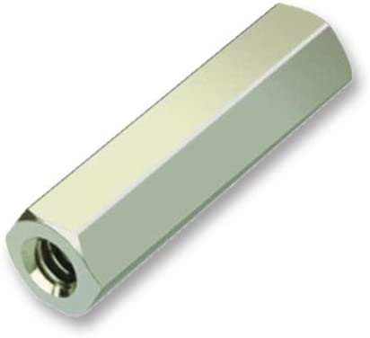 FEMALE-FEMALE R25-1000402 4MM Pack of 100 R25-1000402 SPACER BRASS M2.5