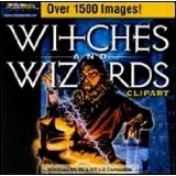 Witches and Wizards Clipart