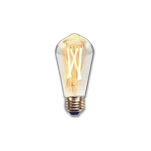 Silver Electronics Edison Bombillas, 2200 K E27, 2 W: Amazon.es: Iluminación