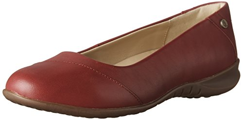 Hush Puppies Vrouwen Kneu Bria Slip-on Loafer Donkerrood