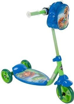 Scooters For Kids - The Good Dinosaur Boys 3 Wheel Kick Scooter - Huffy Scooters For Boys
