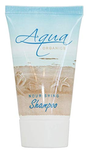 (Aqua Organics Shampoo, Travel Size Hotel Amenities, 1 oz (Case of 300))