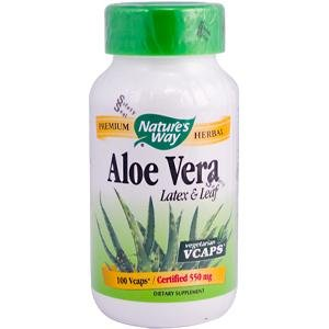 Natures Way Aloe Vera 100 cap