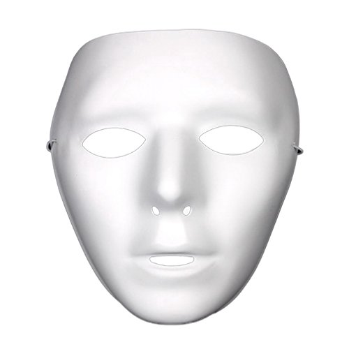 YAZILIND Fashion Ghost Head Masked Hip Hop Street Dance Halloween Party Costume Masquerade -