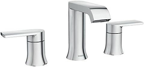 Bathtub Faucet.Moen Genta 8 In Widespread 2 Handle Bathroom Faucet In Chrome