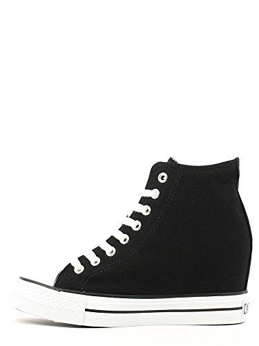 Interne Blu 228 Coin Milieu De Dg900 Caf E16 Les Chaussures Sheakers Gris Tissu Noir Femme g6FqOn8