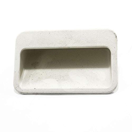 (131063601 Laundry Center Dryer Door Handle (Almond) Genuine Original Equipment Manufacturer (OEM) Part Almond)