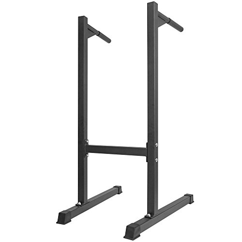 Titan Dipping Station Dip Stand Pull Push Up Bar Fitness Workout Gym 500 lb