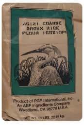 Amazon.com : Brown Rice Flour - 50 Pound Bag : Grocery
