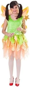 Disfraz de ninfa de otoño niña: Amazon.es: Juguetes y juegos