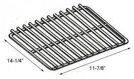 Chrome Grid Plated (Cooking Grid, Nickel/Chrome-Plated - 14-1/4