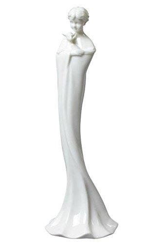 Amazon.com: 8 inch todos color blanco porcelana Figura ...