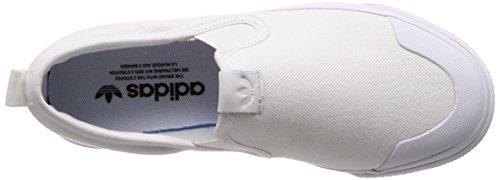 Nizza Mujer Zapatillas Blanco Deporte W 000 Blanco para Slipon adidas de Hdwq0H4