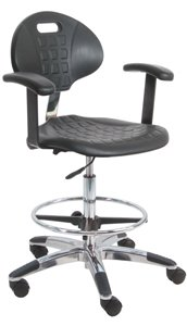Benchpro Deluxe Cleanroom Lab Polyurethane Chair