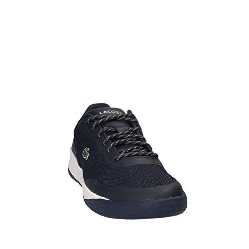 Bleu Chaussures Man Lacoste 733spm1027 Lacets IgRAq7wAP
