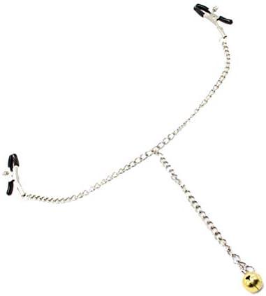 HEALLILY Brustwarzenklemmen Clip mit Glocke Bruststimulation Spielzeug Bachelorette für Frauen Weibliche Paar Parteibevorzugungen Lieferungen
