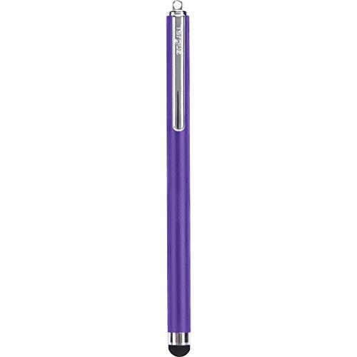 Targus Stylus Pen for Apple iPad, iPad 2, iPad 3 and iPad 4th Generation, iPad Mini, iPhone, iPod, Motorola Xoom, Samsung Galaxy and BlackBerry Playbook, Purple (AMM0122TBUS)