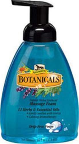 W F Young Pet 427840 Absorbine Botanicals drip-free Massage foam, 16 oz