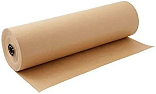 product image for Kraft Paper Roll 30 X 1800 Inch - Brown Craft Paper Table Cover Packing Wrapping Paper
