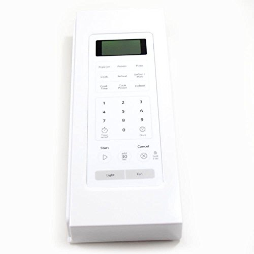 White Control Panel Assembly (Whirlpool W10468660 Microwave Control Panel Assembly (White) Genuine Original Equipment Manufacturer (OEM) part for Whirlpool, White)