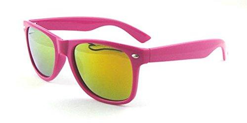 classique ® ASVP Wf18 UV400 Mirror Shop Lunettes Wayfarer Pink de soleil nAATCZwq