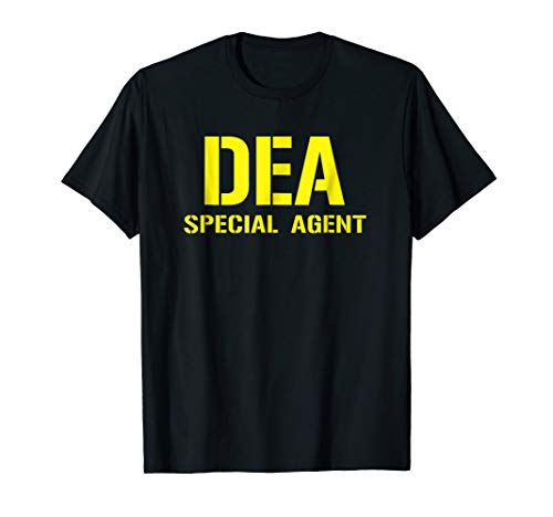 DEA Police Tshirt Special Agent Law Enforcement T Shirt -
