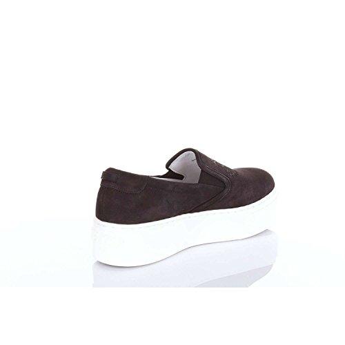 on Tiger Camoscio Sneakers Donna Slip Plateau Kenzo 99 Scarpe L55 2sl400 Zeppa zRn0ax