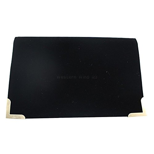 Girls Suede Bag Clutch Clutch Womens Slim Clutch Velvet Purse TM Ladies Bag Evening Black Wocharm Envelope 5xPpq
