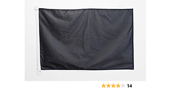Az Flag Plain Black Nautical Flag 18 X 12 Solid Color Flags 30 X 45 Cm Banner 12x18 In For Boat Garden Outdoor Amazon Com