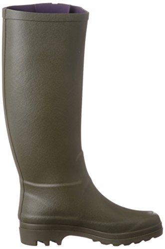 Aiglentine Stivali Donna Verde di Gomma Aigle Kaki dwqHSFd