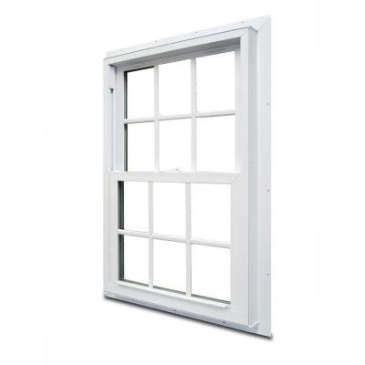 70 Series Double Hung Fin Vinyl Window