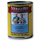 Newman's Own Organics Adult Chicken Formula Canned Dog Food