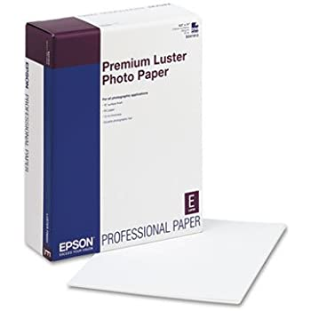 Premium Luster Photo Paper 8.5IN X 11IN 250 Sheets