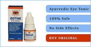 Dr Basu Isotine Herbal Eye Drop (10 ml) - Pack of 6