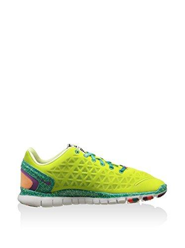 Nike Zapatillas Free Tr 2E Amarillo Flúor / Verde EU 39 (US 6.5)