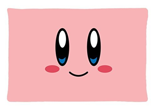 Hertanercase Cute Kirby Custom Zippered Soft Pillow Cases 20x30 (Two sides) (Kirby Bed Set compare prices)