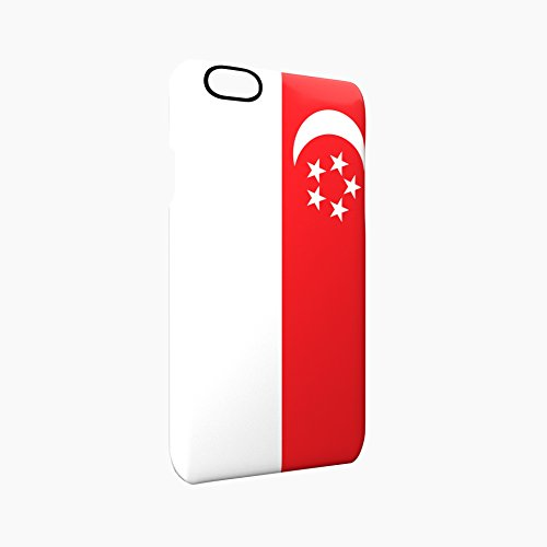 Flag of Singapore Glossy Hard Snap-On Protective iPhone 6 / 6S Case Cover