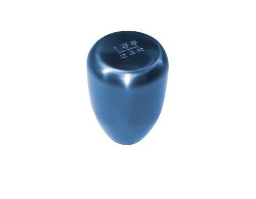 Blox Racing BXAC-00219 Torch Blue 10 x 1.25mm Thread Size Billet Original 6-Speed Shift Knob