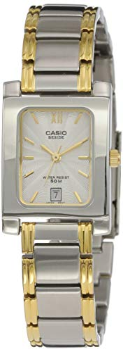 Casio Enticer Analog White Dial Women's Watch   BEL 100SG 7AVDF  SH46